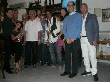 MASSIMO EMANUELLI, MARCO BALDINI, PAOLO LUNGHI, TONINO LUPPINO, PREMIATI DEEJAY SOTTO LE STELLE