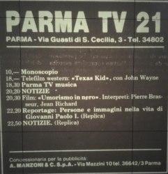 parma tv 21 palinsesto
