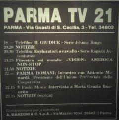 parma tv 21 via gusti s.cecilia 3