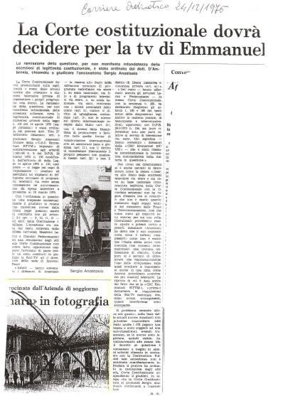sergio emmanuele anastasio articolo d'epoca
