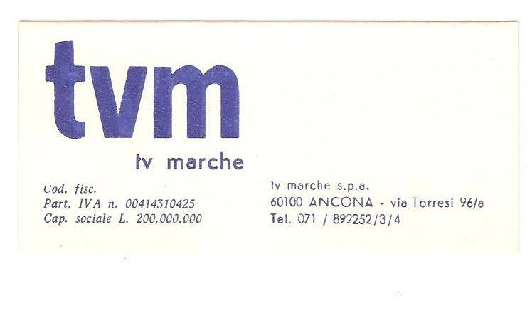 TVM MARCHE