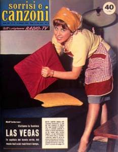 1959 copertina sorrisi n.19 betty curtis
