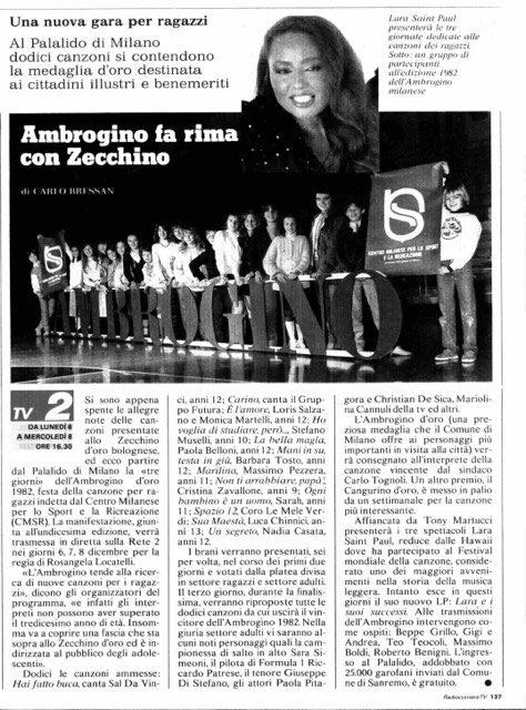 AMBROGINO D'ORO