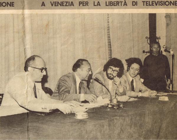 CONVEGNO TV VIA CAVO VENEZIA - FOTO