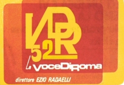 EZIO RADAELLI logo la voce di roma ezio radaelli