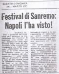 FESTIVAL DI SANREMO TELEDIFUSSIONE ITALIANA ARTICOLO (1)