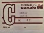KOCSIS TELEMILANO 58 CANALE 5