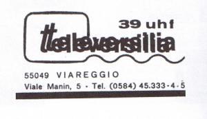 LOGO TELEVERSILIA UHF 39