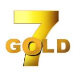 7 gold logo storico