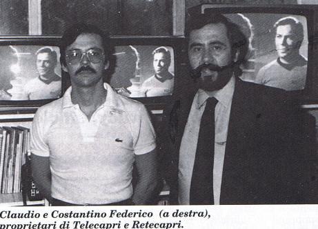 CLAUDIO E FEDERICO COSTANTINO CAPRI