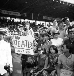 concerto beatles lucio flauto 1965 storiaraiotv