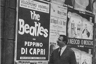 lucio flauto poster beatles storiaradiotv