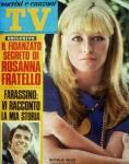 GIPO FARASSINO COPERTINA TV SORRISI E CANZONI 1969