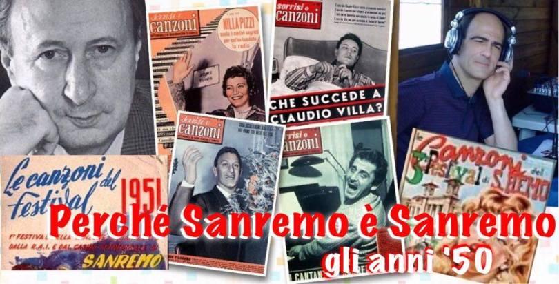 PERCHE' SANREMO E' SANREMO ANNI '50