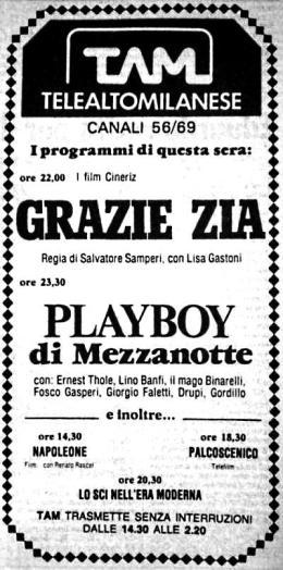 TELEALTOMILANESE 1980