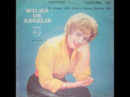 wilma de angelis patatina