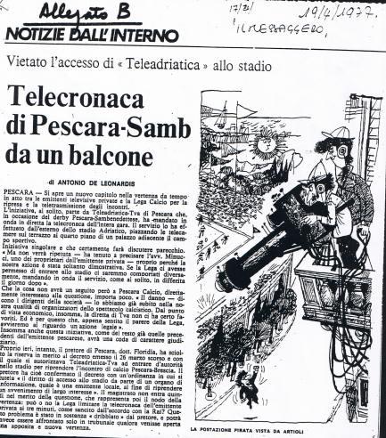 ARTICOLO TELEADRIATICA CAVO