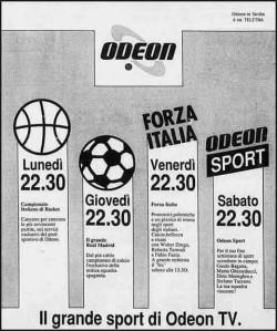 forza italia odeon tv