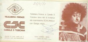 giorgio ariani canale 3 toscana telelibera firen