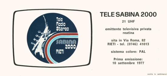 tele sabina 2000