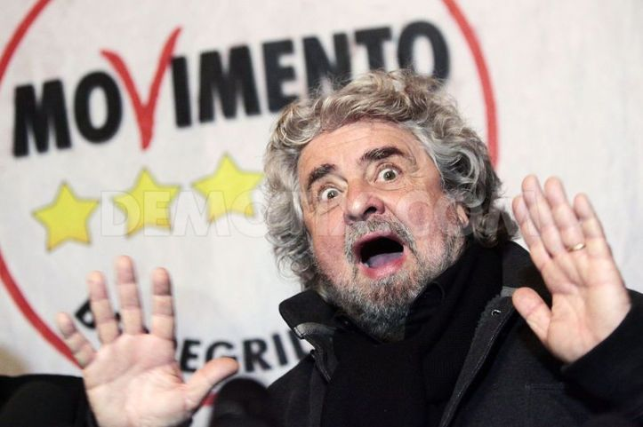 beppe grillo 5 stelle