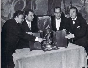 GIORGIO CONSOLINI, GINO LATILLA, EDUARDO FALCOCCHIO, UMBERTO BERTINI