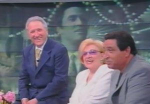 MARIO TREVI CARLA BONI E NARCISO PARIGI 2001