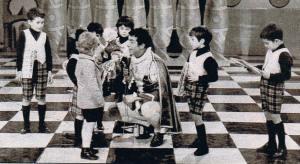 cino tortorella e bambini 50 anni zecchino
