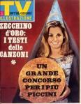 copertina sorrisi 1967 zecchino d'oro