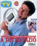 FABIO FAZIO COPERTINA SORRISI 1997 n.35 Fabio Fazio