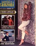 JOE SENTIERI 1959 copertina sorrisi n.43 joe sentieri marisa del frate ELENA SEDLAK
