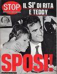 TEDDY RENO E RITA PAVONE SPOSI 1968