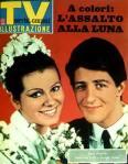 1965 copertina sorrisi giorgio gaber ombretta colli sposi