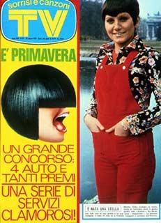 1973 COPERTINA SORRISI GILDA GIULIANI