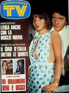 COPERTINA SORRISI 1975 GIANNI nazzaro 1