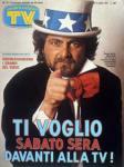 copertina sorrisi 1981 5 beppe grillo regia enzo trapani