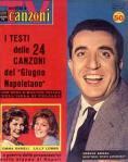 COPERTINA SORRISI 25 1961 sergio bruni emma danieli lilly lembo