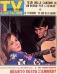 gianni morandi laura efrikian copertina sorrisi 1966
