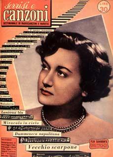 1953 SORRISI 9 flo sandon's
