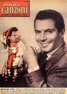 Copertina tv sorrisi e canzoni n.3 1955 natalino otto