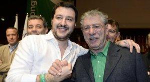 Umberto Bossi Matteo Salvini