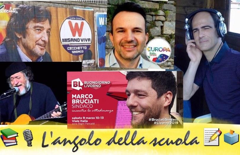 L'ANGOLO DELLA SCUOLA candidati sindaco