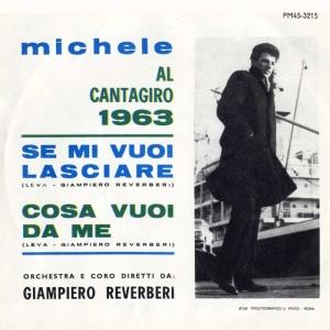 michele maisano se mi vuoi lasciare cantagiro 1963