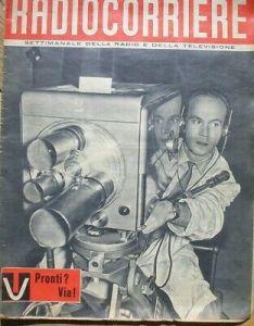 radiocorriere 1954 nasce la tv